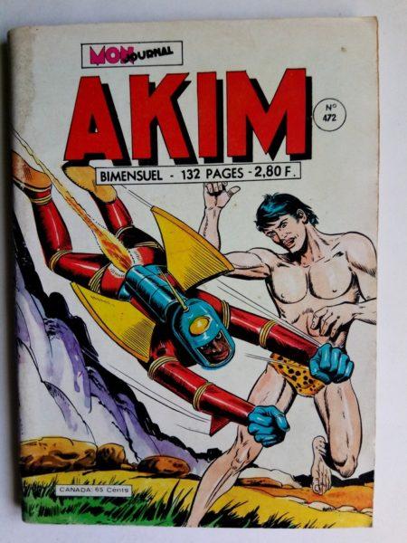 BD AKIM N°472 Le Faucon - MON JOURNAL 1979