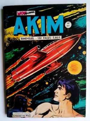 BD AKIM N°477 L'homme venu de l'espace - MON JOURNAL