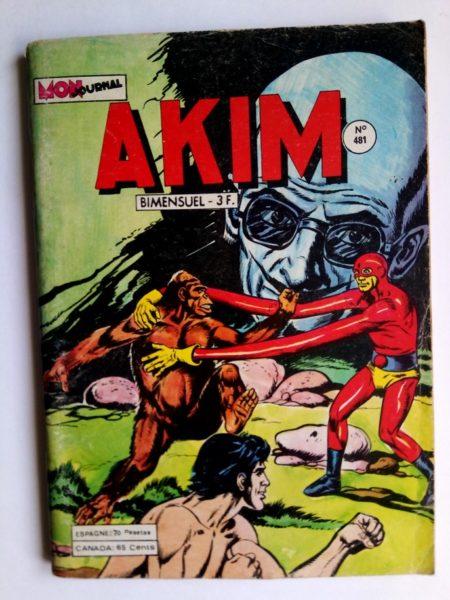 BD AKIM N°481 Les super robots - MON JOURNAL