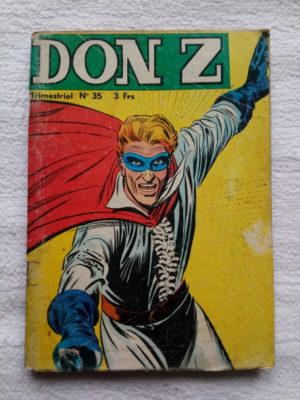 Don Z N°35 – LA CLEF DU MYSTERE (Jeunesse et Vacances 1976)