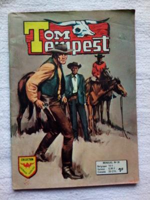 TOM TEMPEST (AREDIT) n°38 Tomahawk – Les Faucons Noires