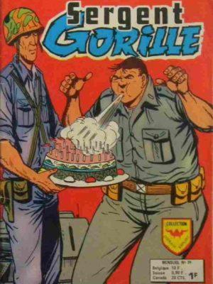 SERGENT GORILLE N°39 L'anniversaire de Gorille (AREDIT)