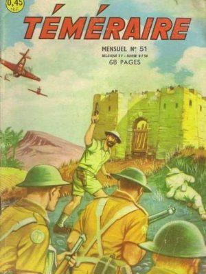 TEMERAIRE (1E SERIE) N°51 TOMIC – Poste 96 (ARTIMA 1962)
