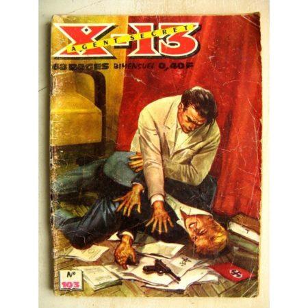 X13 AGENT SECRET N° 103 Sous les vagues