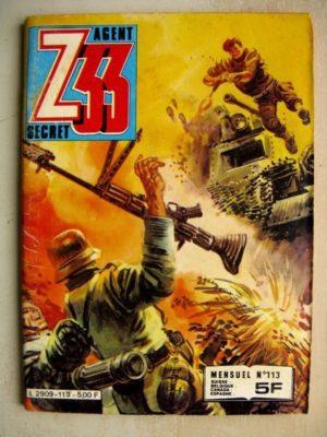 Z33 AGENT SECRET N°113 Soldats de plomb (IMPERIA 1982)