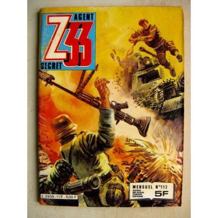 Z33 AGENT SECRET N° 113 Soldats de plomb (Impéria 1982)