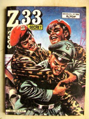 Z33 AGENT SECRET N°144 Les Chacals de Marvik (IMPERIA 1984)