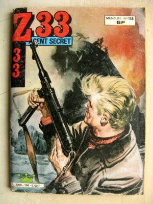 Z33 AGENT SECRET N°156 Une folle nuit (IMPERIA 1985)