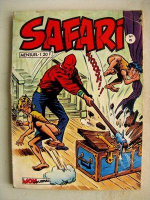 SAFARI (Mon Journal) N°29 Katanga JOE – Le roi Oscar fait des siennes