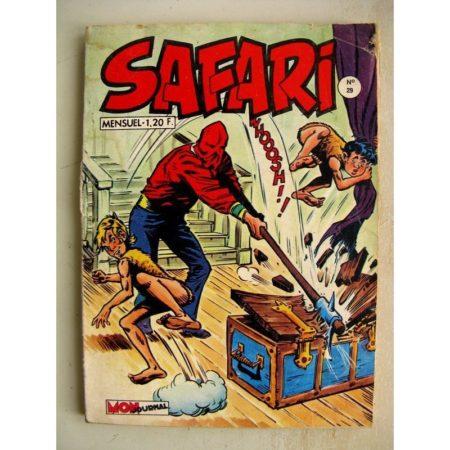SAFARI N° 29 Katanga Joe - Le Roi Oscar (Mon Journal 1970)