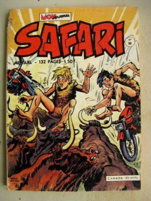 SAFARI N° 69 Katanga Joe - Les Tyrans en Herbe (Mon Journal 1973)