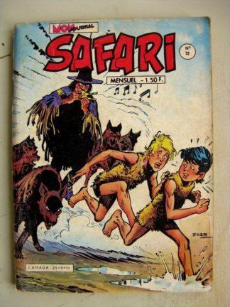 SAFARI N° 72 Katanga Joe - Le Trou des cent démons (Mon Journal 1973)