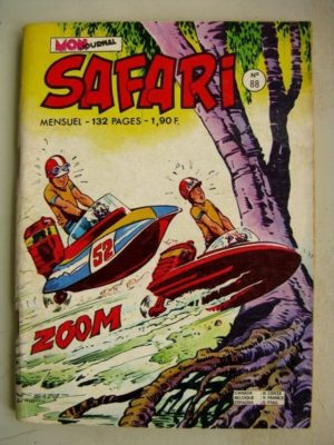 SAFARI N° 88 Katanga Joe - Le trésor Maudit (Mon Journal 1974)