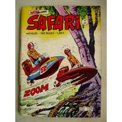 SAFARI N° 88 Katanga Joe - Le trésor Maudit (Mon Journal 1974)