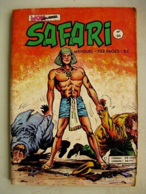 SAFARI N° 96 Katanga Joe - Le Super Flair d'Oscar - Kid Pharaon - Les ténèbres (Mon Journal 1975)
