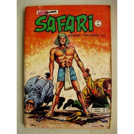 SAFARI N° 96 Katanga Joe - Le Super Flair d'Oscar - Kid Pharaon - Les ténèbres (Mon Journal 1975)