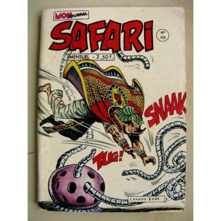 SAFARI N° 115 Katanga Joe - La Mine du Roi Salomon - Kid Pharaon - La Machine Infernale (Mon Journal 1977)