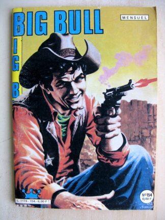 BIG BULL N° 154 Persuasion - Jim Morgan (Le percepteur) Impéria 1985