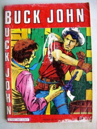 BUCK JOHN N° 567 Bingelus City - Nosy Parker - Echec au Ku Klux Klan (Impéria 1982)