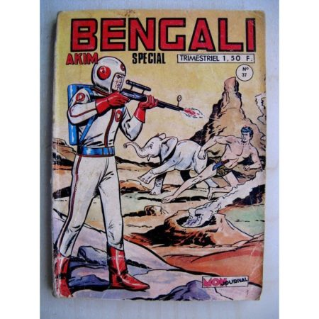 BENGALI N° 37 Akim - Le démon de Katabaru