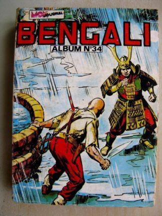 BENGALI ALBUM 34 (n°73,74,75) Akim - Tara le maître de la vallée