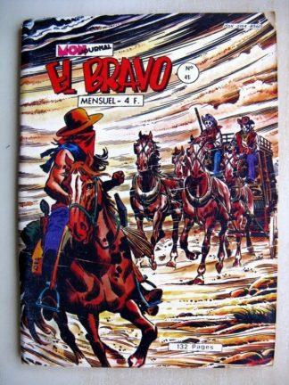 EL BRAVO N°41 Kekko Bravo - La diligence fantôme