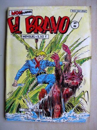 EL BRAVO N°86 Western Family - Pas de pitié pour les Bleus