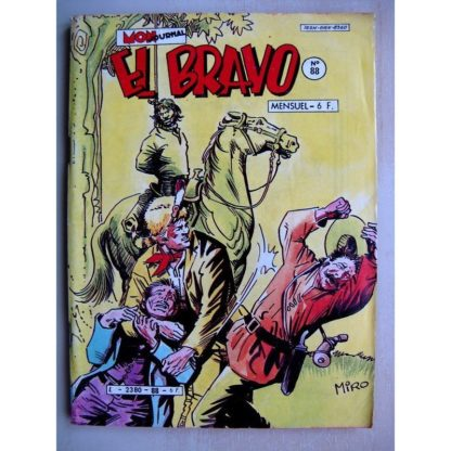 EL BRAVO N°88 Western Family - Le rossignol du trail