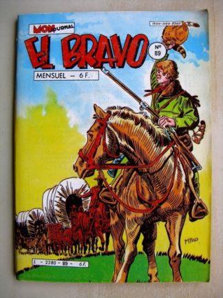 EL BRAVO N°89 Western Family - Lobos