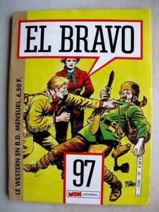 EL BRAVO N°97 Bronco et Ella - Bagarre dans le désert