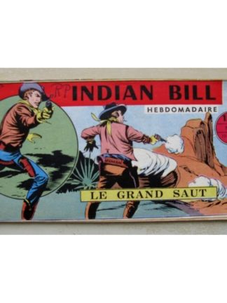 INDIAN BILL N°3 Gill Bart - Le Grand Saut (Remparts 1958)