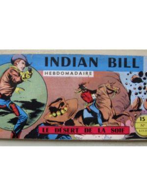INDIAN BILL N°5 Gill Bart – Le désert de la soif (Remparts 1958)