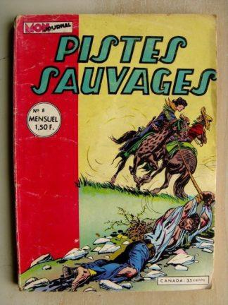PISTES SAUVAGES N°8 Kirbi Flint (L'indienne qui prédisait l'avenir) Sunday (Histoire de chemin de fer)