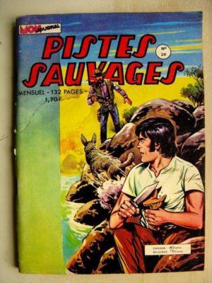 PISTES SAUVAGES N°28 Giddap Joe (la folie de l'or) Jackaroe (duel sous la pluie)