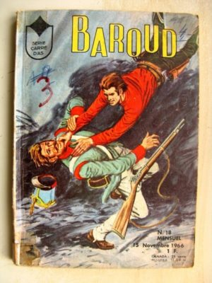 BAROUD N°18 Rick Ross (Le pirate) Dago (un adversaire redoutable) LUG 1966