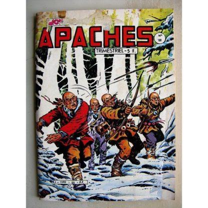 APACHES N°88 Canada Jean (la vallée du soleil) Mark Trail (partie de pêche)