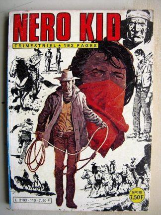 NERO KID N° 110 Mission dangereuse - Les profanateurs - Un homme d'honneur