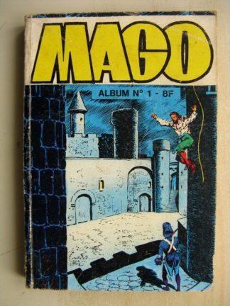 MAGO ALBUM N°1 (n°1,2,3) Cagliostro ( l'homme qui fabriquait de l'or, femme dans la nuit, sceau de Salomon) Jeunesse et Vacances
