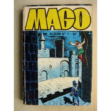 MAGO ALBUM 1 (n°1-2-3) Cagliostro (Jeunesse et Vacances 1981)