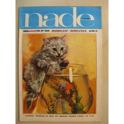 NADE (Bernadette) n°208 (4 avril 1965) Pricille et Olivier