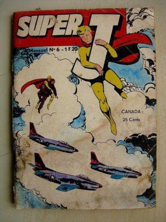 SUPER J N°6 Sauvetage - GRAND PRIX (Abilène) ROCKY RIDER (L'épée noirel) JEUNESSE ET VACANCES 1969
