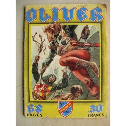 OLIVER N° 22 Le sceau royal - Le parchemin du destin (IMPERIA 1959)