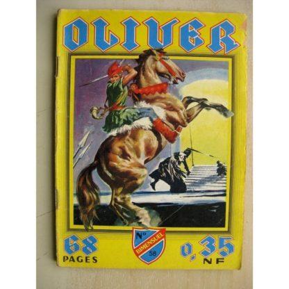 OLIVER N° 58 Les cavaliers gris - Prince Gabor (IMPERIA 1961)