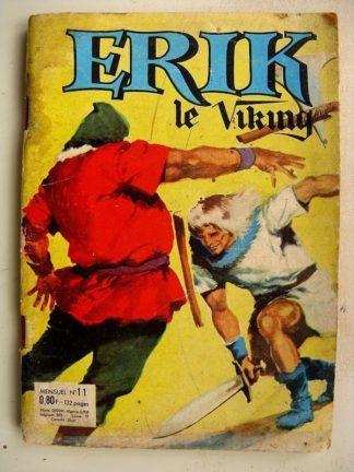 ERIK LE VIKING N° 11 - LE PETIT COW BOY - LE TIGRE DES ABIMES - LES REGUL'S (SFPI 1964)