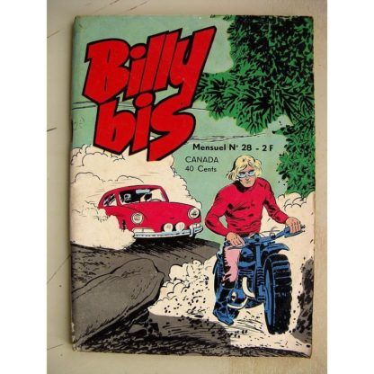 BILLY BIS N° 28 - Ringo Justice - Les Onze Faucons (Jeunesse et Vacances 1974)