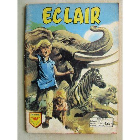 ECLAIR N°3 LA GRANDE PEUR DES ANIMAUX - FREDDY (un temps changeant) ARTIMA 1964