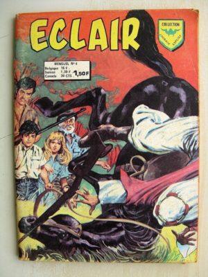 ECLAIR N°4 L'ombre des vautours (Courage Exploit AREDIT 1974)