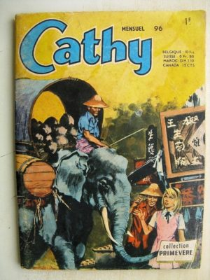 CATHY N°96 L'hôtel des bambous (Collection Primevère AREDIT 1971)