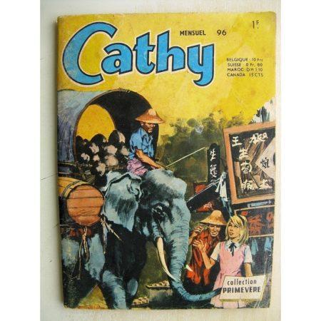 CATHY N°96 L'hôtel des bambous (Collection Primevère AREDIT 1971)