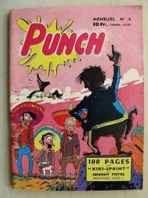 PUNCH N°4 KIKI SPRINT – JOHNNY PISTOL – KEVIN LE HARDI (SER 1958)